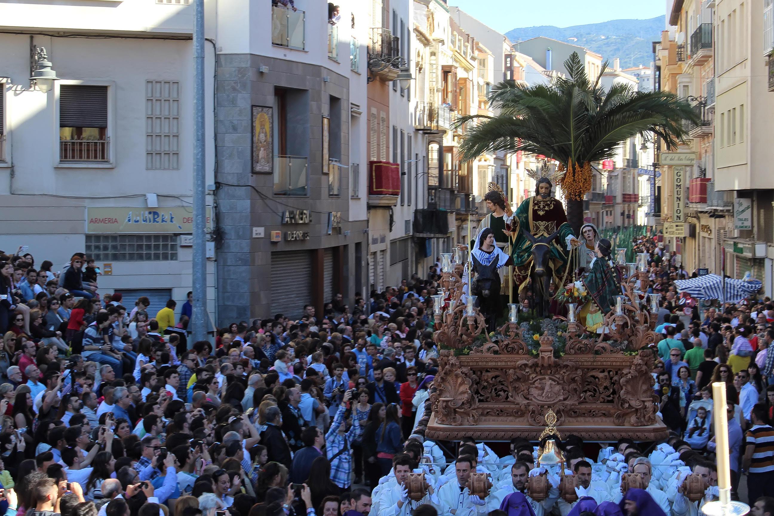 Pollinica - Semana Santa en Málaga