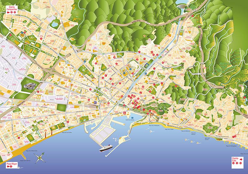qué hacer en Navidad en Málaga