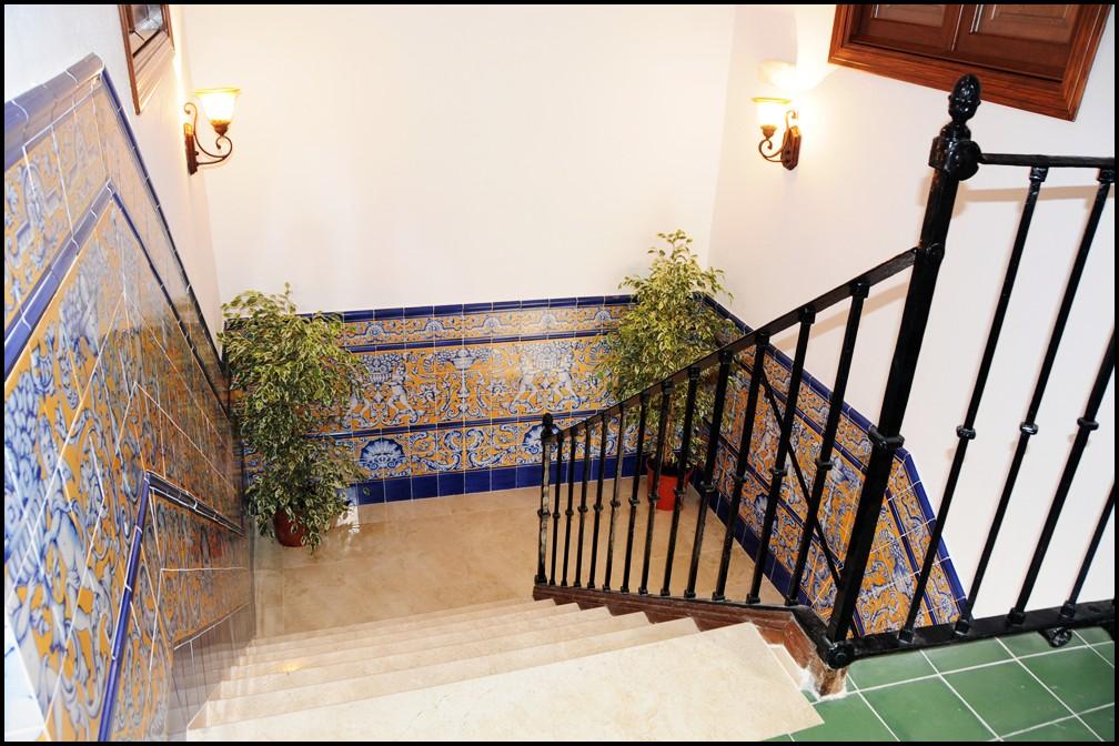 Escaleras la casa de las Mercedes / Stairs the Casa de las mercedes