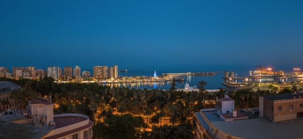 Las mejores vistas de Málaga La Catedral
