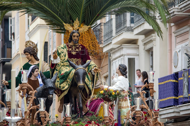 curiosidades de la Semana Santa de Málaga | La Pollinica