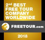 segunda mejor compañía de free tours del mundo
