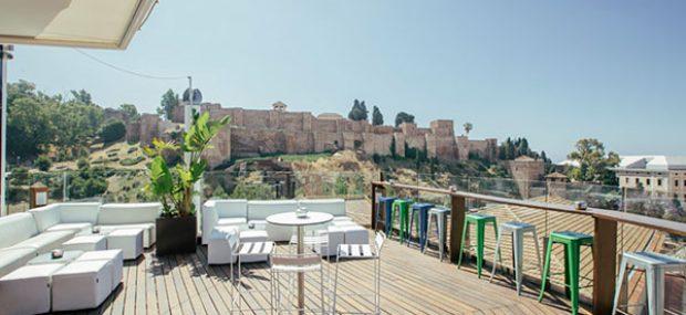 mejores terrazas con vistas en Málaga