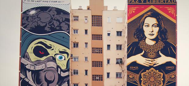 Soho Málaga Obey y D'Face