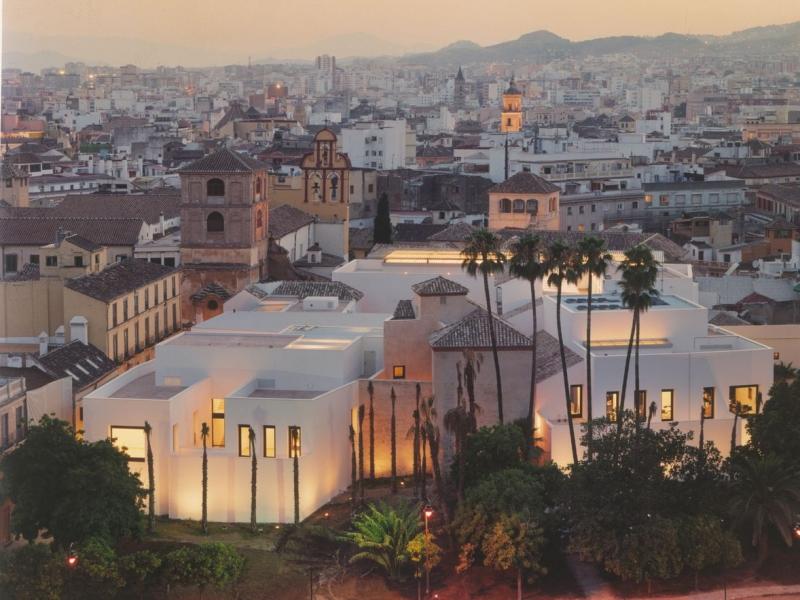 Vista aerea museo Picasso