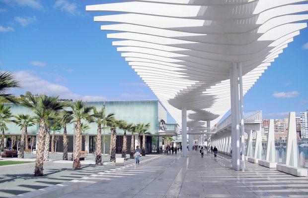 Lugares Mágicos en Málaga - Muelle 1
