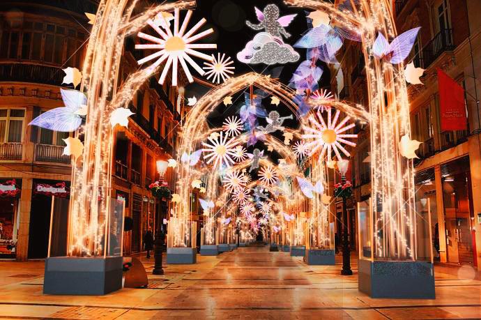 Alumbrado de Navidad Malaga 2019