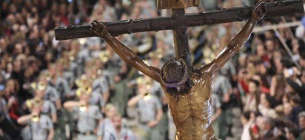 Cristo de la Legión en Málaga