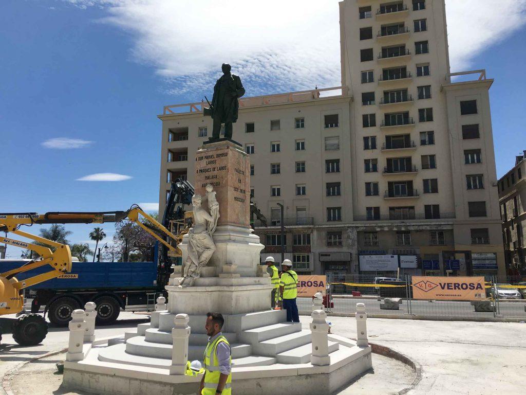 Restauracion Monumento Marques de Larios