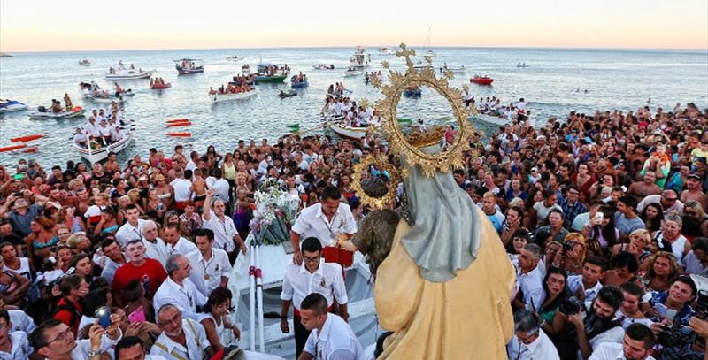 Historia Virgen del Carmen Malaga